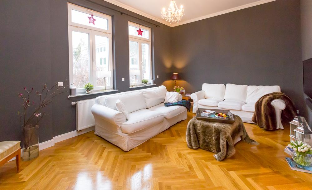 Eiche klassisch symparkett for Wohnzimmer klassisch